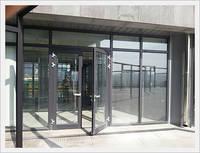 Aluminum-Polystyrene Composite Door