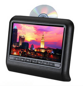 Wholesale dvd loader: 9 Inch HD LED Active Headrest DVD Player