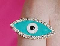 Sell  eYE SHAPE RING.necklace,earring,bracelet