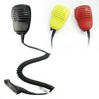 Handheld Microphone for Two Way Radio/Interphone