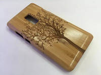 Sell Deep Bamboo Tree Totem Wood Protective Cell Phone Case For One Plus