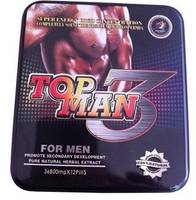 Top Man 3 Male Drug,Herbal Sex Capsule