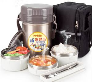 Wholesale lunchbox: Vacuum Insulated Food Containers Lunchbox Food Jar Lunch Jar with Stainless Steel Containers