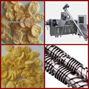 Wholesale tablet making machine: (Skype:FOODMACHINERY2007,Tel:0086 18653342336)Corn Flakes Processing Line