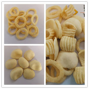 Wholesale crispy: Crispy Pea/Screw/Shell Potato Food Processing Line