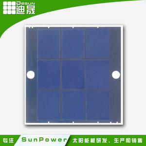 Wholesale solar panel: ShenZhen Small Power Sunpower Efficiency PET Lamination Solar Panel
