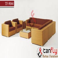 Comtemporary Rattan Wicker Sectional Sofa Furiniture