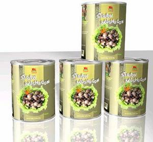 Wholesale plastic label: Canned Straw Mushroom From Vietnam