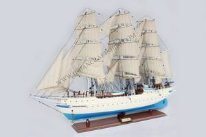 Wholesale craft: Christian Radich Ship Wood Craft