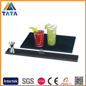Wholesale rubber mat: TATA Custom Soft PVC Rubber Bar Mat