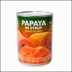 Wholesale lighting: Canned Red Papaya in Light Syrup