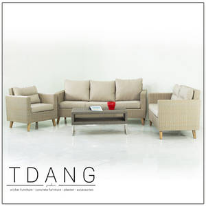 Wholesale truck: Fiji 4 Piece Sectional Seating Group with Cushions