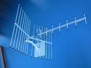 Wholesale receiver unit: TDT UHF 9 Units Ground Wave Receiving Yagi Antenna of All-weather Work and High Gain