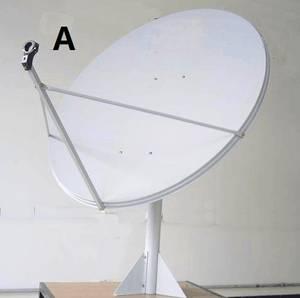 Wholesale satellite antenna: TDT Ku-band Satellite Dish Antenna 100cm with Low Price High Quality