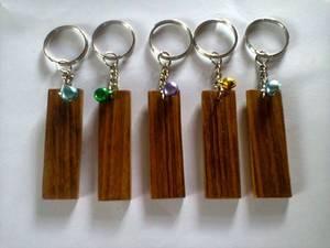 Wholesale Key Chains: Bare Wood Keychain