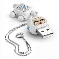 Sell usb flash drives with diamonds, usb flash memory