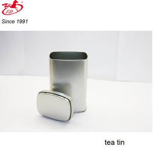 Wholesale food tin: Wholesale Blank Rectangular Tea/Foods Tin Box, Safe Tin Can