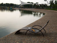 2012 Hot New Models Rattan Beach Chair (LF003)