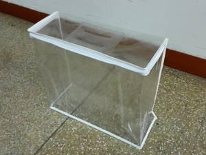 Wholesale down quilt: Clear PVC Zipper Bag for Down Duvet