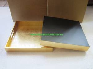 Wholesale tray: Vietnam Product Lacquerware Antique Tray