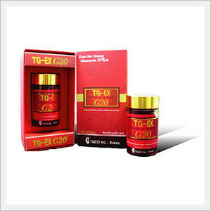 Wholesale ginseng extract: Korea Red Ginseng Extract Powder Capsule (TG-EX)