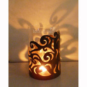 Wholesale vase: Zinc Candle Holder - T09.721