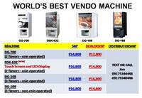 Portable Coffee HotChoco Vending Vendo Machine