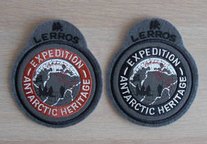 Wholesale embroidery badges: Embroidery Felt Badge