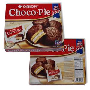 Wholesale beverage: (Holiday Products) ChocoPie Orion 24 Packs