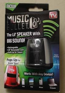 Wholesale notebook charger: Music Bullet Mini