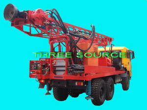 Wholesale gas powered hydraulic pump: TST-150 Truck Mounted Drilling Rig
