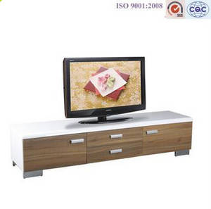 Wholesale TV Stands: New Design - Wooden Modern LED TV Stand Furniture