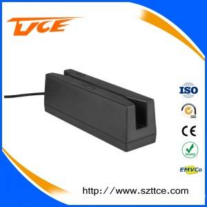 Wholesale payment kiosks: RS232/TTL/USB Interface Track 1/2/3 Magnetic Stripe Card Reader for POS Terminal Payment Kiosk