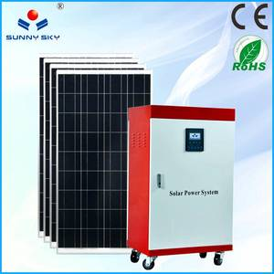 Wholesale solar controller: 1KW Solar Power System with Mppt Solar Controller Inverter