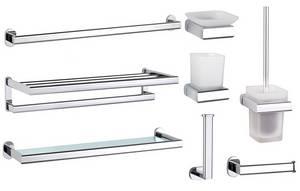 Wholesale bath soap: Bathroom Accessoies Bath Fitting Robe Hook Towel Rail Ring Rack Toilet Paper Holder Brusher Soap