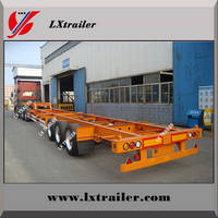 Sell container semi trailer