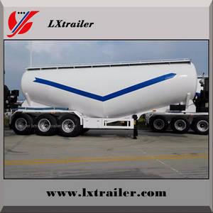 Wholesale semi trailer: China Cheap Cement Transport Semi Truck Trailer Bulk Powder Tanker Trailer