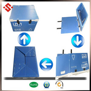 Wholesale plastic box/package: Water Proof Aging Resistanc Plastic PP Packaging Foldable  Box