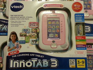 Wholesale battery pack: Brand New Vtech InnoTab 3 Learning App Tablet with Camera 2 Pink