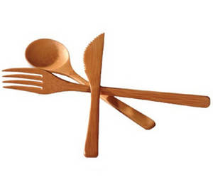 Wholesale dinnerware: Hot Natural Bamboo Dinnerware Set