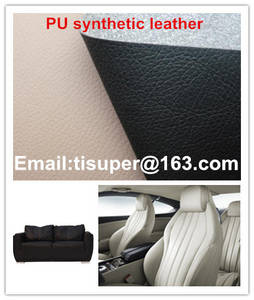 Wholesale microfiber upholstery fabric: PU Leather