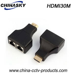 Wholesale cctv system: 30m 1080P Cat5e/6 HDMI Extender for CCTV System (HDMI30M)