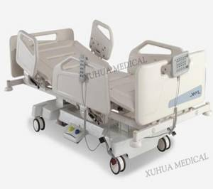 Wholesale electric bed: Column Motors Five Functions Electric Hospital Patient Bed  with CPR Model: XHD-2A