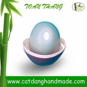 Wholesale handmade: Bamboo Oval Bowl with Handle Hole, Vietnam Handmade Bowl