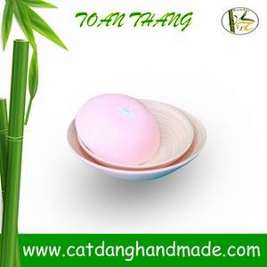 Wholesale vase: Coiled Bamboo Bowls for Food, Salad, Decor