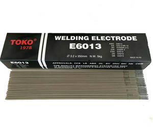 Wholesale Welding Rods: Sell TOKO Welding Rod Electrode AWS E6013 From Japan
