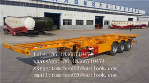 Wholesale china container: china hot selling container skeleton semi trailer