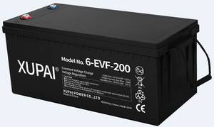 Wholesale electric vehicles: 12V 200ah Xupai Lead Acid Battery Pack for Electric Vehicle 6-EVF-200