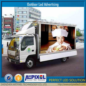 Wholesale advertising led: Full Color Mobile LED Truck, Mobile Advertising LED Screen