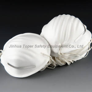 Wholesale protective mask: Disposable Cup Type Dust Mask Protective Mask